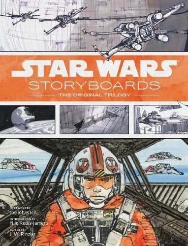 Star Wars Storyboards: The Original Trilogy by J.W. Rinzler (2014) Hardcover