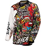 ONeal Mayhem Lite Crank - Maillot manches longues Homme - Multicolore Modèle S 2017 tee shirt manches longues homme