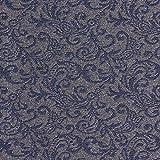 Fabulous Fabrics Stretchjacquard Paisleymuster – grau —