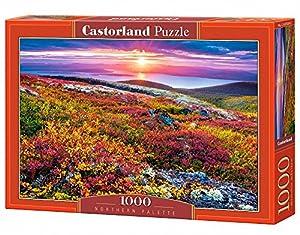 Castorland Northern Palette 1000 pcs Puzzle - Rompecabezas (Puzzle Rompecabezas, Paisaje, Niños y Adultos, Niño/niña, 9 año(s), Interior)