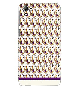 PrintDhaba Beautiful pattern D-1529 Back Case Cover for HTC DESIRE 826 (Multi-Coloured)