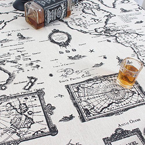 dadao-cotton-tablecloth-fabric-pattern-of-numbness-art-retromap150150cm