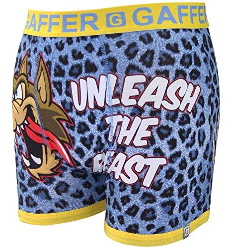 Gaffer Mens Boys Rude Novelty Boxer Shorts Trunks Underwear