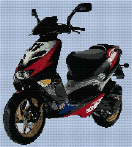 aprilla-sr50-ditech-scooter-cross-stitch-chart