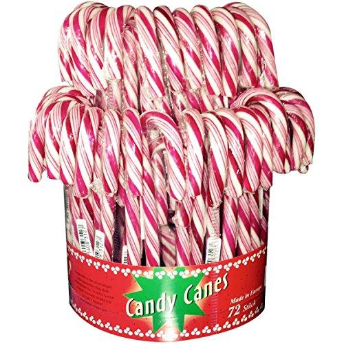 Cane Rote Kostüm - Candy Canes - Zuckerstangen rot-weiß - 72St/1kg