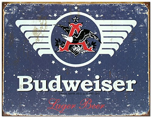 budweiser-1936-logo-blue-distressed-retro-vintage-tin-sign-by-poster-revolution