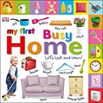 Packed with colourful pictures and activities, your toddler will love discovering familiar things from around the home with this tactile board book. Read it together and help them turn the pages using the easy-grip picture tabs.    Bright, busy pa...