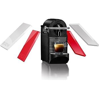 Nespresso EN 126 Pixie Clips cafetera, programable, 1260 W, 0.7 litros, Acero Inoxidable, plástico, Blanco