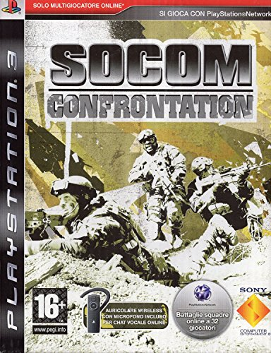 PS3 - Socom: Confrontation + Bluetooth Headset (Bundle) [italienische Version] Ps3 Bluetooth-headset