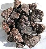 Kala Namak, Schwarzsalz aus Indien, Brocken