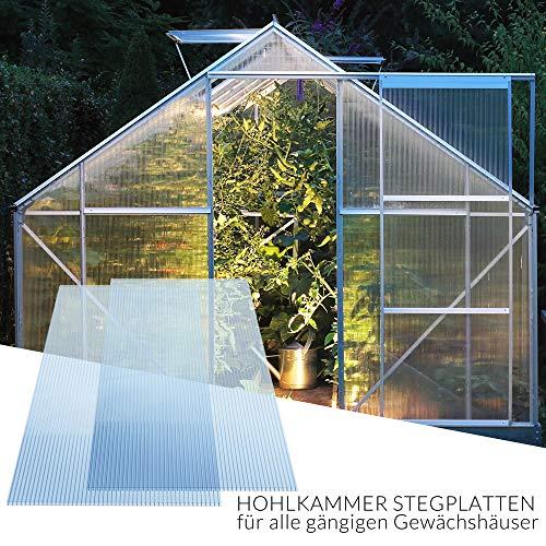 Deuba Hohlkammerstegplatten 14 Stück | 10,25 m² | - 3