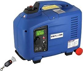 DENQBAR 2,8 kW Inverter Stromerzeuger Notstromaggregat Stromaggregat Digitaler Generator benzinbetrieben DQ2800ER mit E-Start und Funk