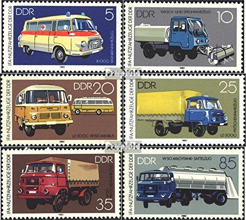 DDR 2744-2749 (kompl.Ausgabe) 1982 Nutzfahrzeuge (Briefmarken für Sammler)