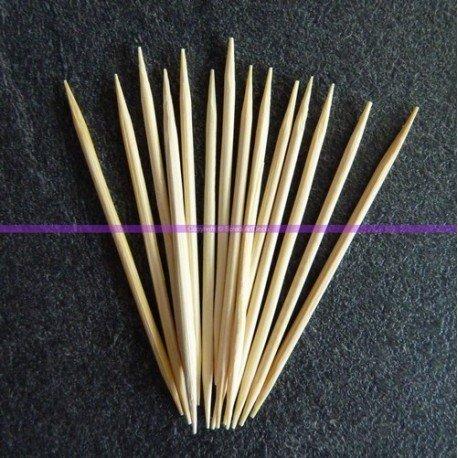Set 190Zahnstocher aus Holz, lang. 65mm, Durchmesser 2mm