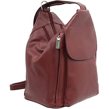 c5dbe5ecbfb3 Visconti Leather Backpack Handbags for Women - Rucksack for Travel ...