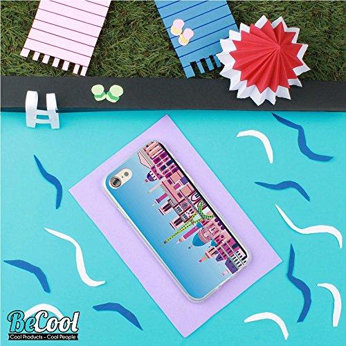 BeCool®- Coque Etui Housse en GEL Flex Silicone TPU Iphone 8, Carcasse TPU fabriquée avec la meilleure Silicone, protège et s'adapte a la perfection a ton Smartphone et avec notre design exclusif. She L1614