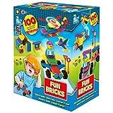Beluga Spielwaren 1628 Fun Bricks - Noppenbausteine 100 Teile