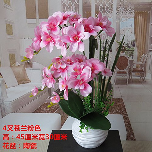 LIXIAOXIN Butterfly Orchid Simulation Set False Dekoration Rosa
