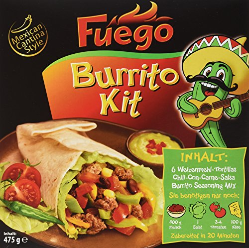 Fuego Burrito Kit, 2er Pack (2 x 475 ()