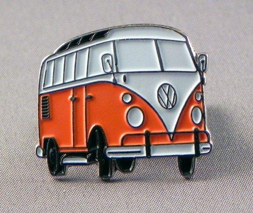metal-enamel-pin-badge-brooch-orange-volkswagen-vw-camper-van-transporter