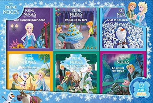 REINE DES NEIGES - Coffret 12 Livres