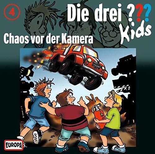 Die Drei ??? Kids (Folge 4) - Chaos vor der Kamera Kamera-cd