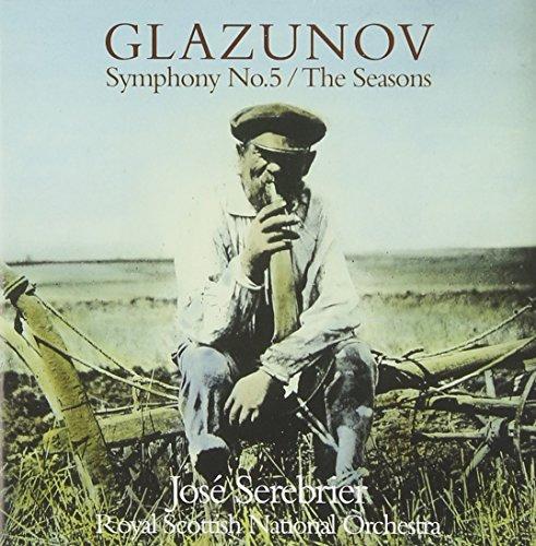 Glazunov : Symphonie n° 5 en si bémol majeur, op.55 - Les Saisons, op. 67