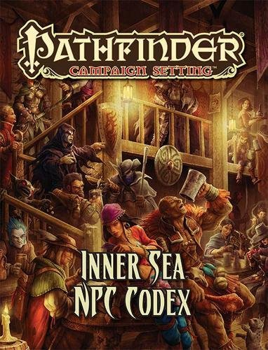 Pathfinder Campaign Setting: Inner Sea NPC Codex por Paizo Staff