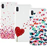 Young Ming Cover Compatibile With Samsung Galaxy A20e, 3 Pack Morbido Trasparente Silicone Custodie Protettivo TPU Gel…