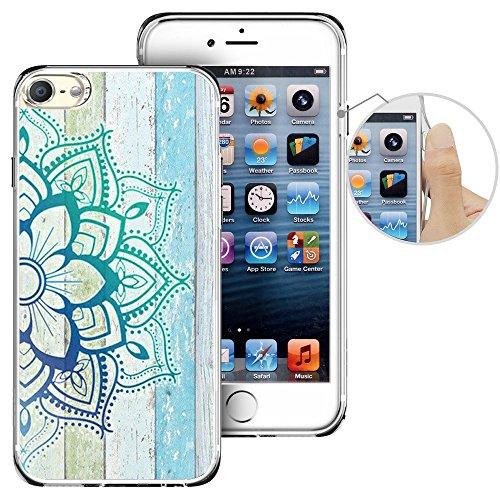 Für Ipod Touch 6. Fall, laaco Schöne Klar TPU Case Gummi Silikon Haut Cover Für Apple iTouch 6-Zeichen Design Pink Ocean, iTouch (5)