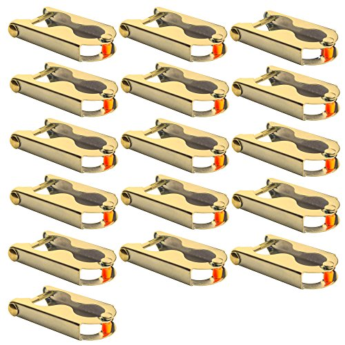 AWM Trampolin 16x Befestigungsklammern Stangen Befestigung Netz - Stangen Klemmen