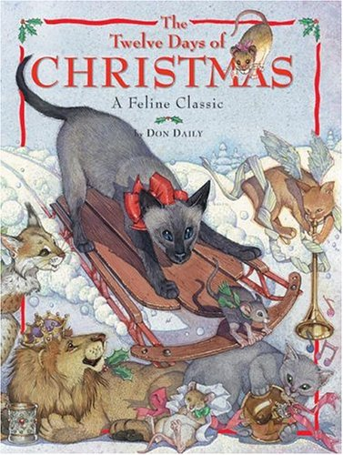 The twelve days of Christmas : a feline classic