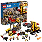 LEGO 60188 City Mining Construction Site Toy Set, Vehicle Toys, Construction Toys for Kids