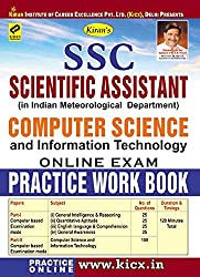 SSC Scientific Assistant Computer Science Online Exam Practice Work Book: 1977