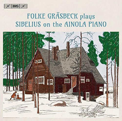 Sibelius gespielt am Klavier in Ainola