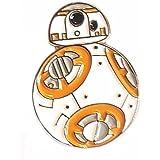 Metal Enamel Pin Badge Star Wars BB-8 (BB8) Robot Droid by Mainly Metal