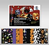 Ursus 13020099 - Gruselblock 24 x 34 cm, 22 Blatt, verschiedenen Farben und Motive
