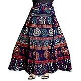 #9: Women's Cotton Skirt (Multicolor_Free Size)