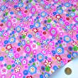 Always Knitting And Sewing per per metre oh so floral polycotton fabric pink