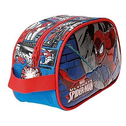 61EWxeDg3cL. SS416  - Spiderman Comic Neceser de Viaje, 24 cm, 3.36 Litros, Multicolor