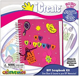 Creative Hands Kit scrapbooking pour meilleures amies Multicolore