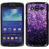 WonderWall Fondo De Pantalla Imagen Diseño Trasera Funda Carcasa Cover Skin Case Tapa Para Samsung Galaxy Grand 2 SM-G7102 SM-G7105 - del brillo de Bling estrellas brillantes iridiscente