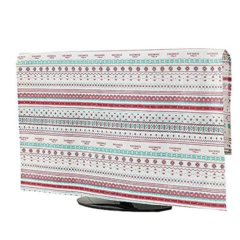 NACHEN TV Staubschutzhülle Hängende Stoff Haushaltswaren Staubdichte Schutzhülle LCD TV Vorhang , color 4 , 90*90cm