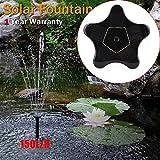1.4W 7V Stern Modell Solar Outdoor Garten Portable Wasserpumpe Brunnen Kit