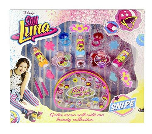 Markwins Kosmetik-Tasche mit Beauty-Set (Lipgloss, Lippenstift, Lidschatten & Schmuck) für Fans von...