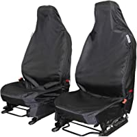 16-17 The Urban Company Seat Covers Front Black Waterproof to fit Jaguar F Pace