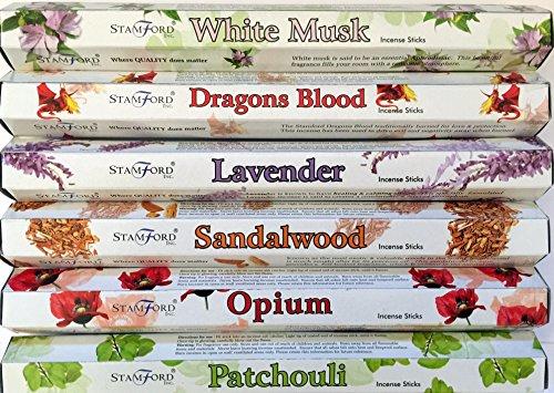 hex-range-premium-stamford-bastoncini-di-incenso-muschio-bianco-dragons-blood-lavanda-legno-di-sanda