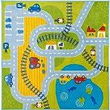 Haba 303378 - Teppich Fahrspaß, Spiel