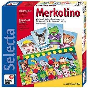 Selecta - 3555 - Jeu de Société Éducatif - Merkolino