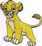 Simba König der Löwen Kinder Löwe Schultasche DVD Aufbügler Aufnäher Patch